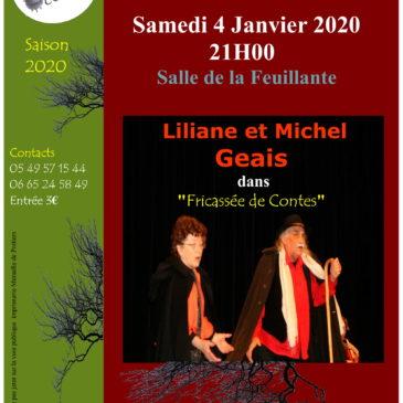 Place aux Conteurs Amateurs: Fricassée de Contes par Liliane et Michel Geais.