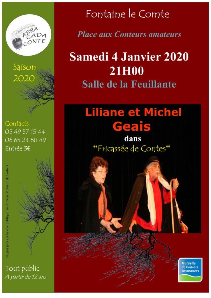 Fricassée de contes avec Lilianne et Michel Geais