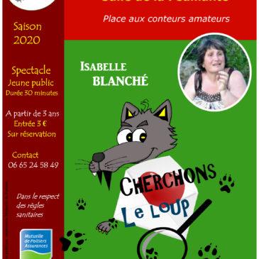 Place aux conteurs amateurs jeune public: Isabelle Blanché