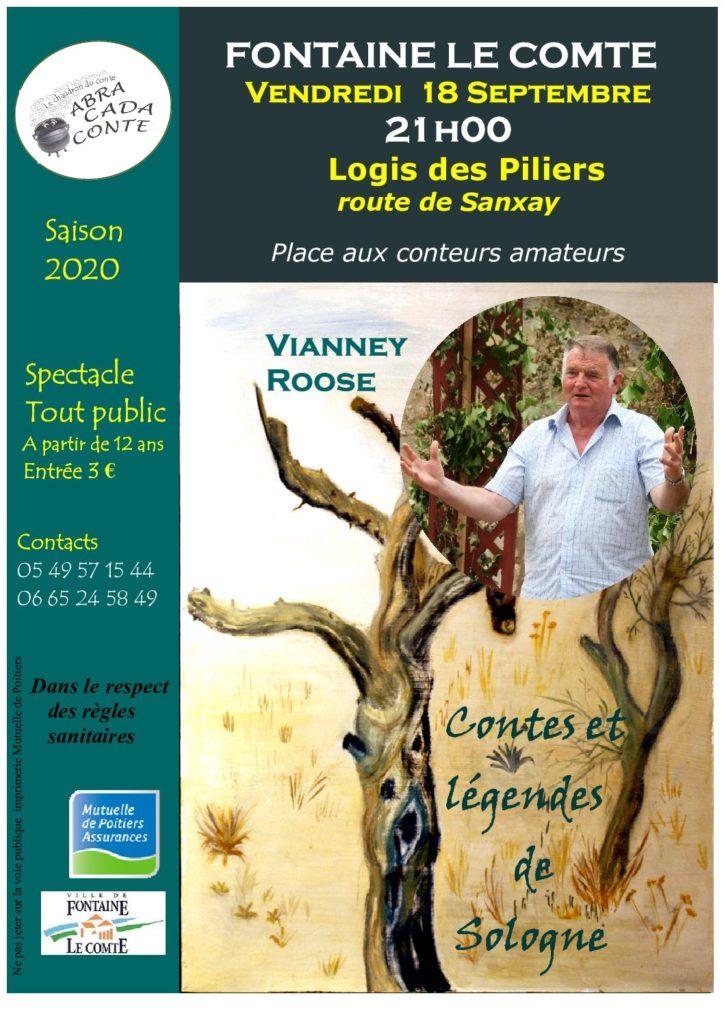 Place aux Conteurs Amateurs: Vianney Roose